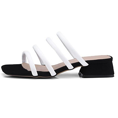 06858396 Rose Printemps Vert Talon Bottier Femme Noir Daim Confort Chaussures Eté Sandales 6EpvPB