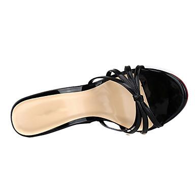 de 06848661 semelle Rouge Polyuréthane Bride Chaussures Hauteur amp; Beige Soirée compensée Bout Noir Arrière Femme Evénement Eté Sandales A ouvert g8qzxRxwH