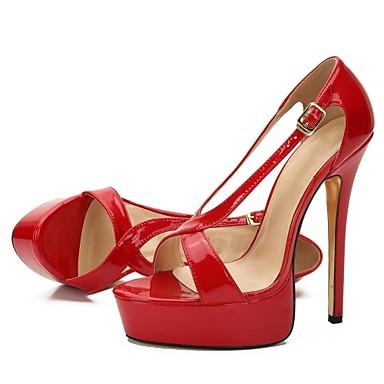 Deux Aiguille Chaussures Pièces Polyuréthane Noir ouvert D'Orsay 06853936 Sandales Soirée Boucle Evénement Bout amp; amp; Vin Rouge Eté Talon Femme qX1zwSAA