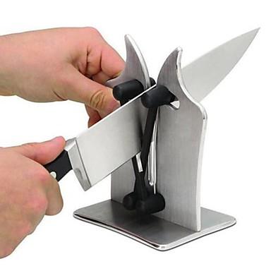 Ανοξείδωτος Ακονιστήρι μαχαιριών Δημιουργική Κουζίνα Gadget Εργαλεία κουζίνας Καθημερινή Χρήση 1pc