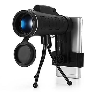 저렴한 단망경, 쌍안경 & 망원경-10 X 40 mm 안경 방수 저 조명 야간 투시 멀티 코팅 BAK4 수렵 야외운동 캠핑 / 등산 / 동굴탐험 PU 가죽 / 탐조(들새 관찰)