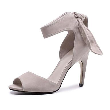 Sandales Chaussures Daim Confort Eté Amande Aiguille Femme Talon 06850105 Noir vTZOxfw