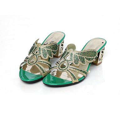 Bottier Confort Chaussures Femme 06863852 Printemps Vert Polyuréthane été Bleu Sandales Amande Talon d0qqBIwW