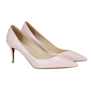 Printemps Talons à Femme Confort Nappa Cuir Rose Noir Chaussures 06849285 Talon Aiguille Chaussures qFcBtWBn1