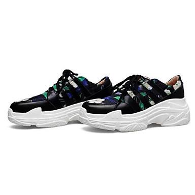 Printemps Basket Vert Femme fermé Bout Creepers Confort Chaussures 06848488 Cuir Eté Nappa Rouge HxCwfY