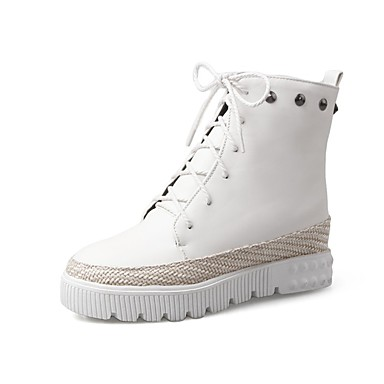 Talon Automne Bottes Blanc 06850306 Argent Femme hiver Noir Polyuréthane Chaussures Confort Plat qX4EgSSYwn