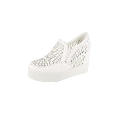 Cuir Mocassins Confort été Rose Plat Chaussures D6148 Nappa Noir Femme Printemps Chaussons Talon 06857149 et Blanc w5C1qaY