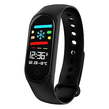 72dd1295043 KUPENG M3S Unisex Smartwatch Android iOS Bluetooth Sports Waterproof Heart  Rate Monitor Blood Pressure Measurement Touch Screen Pedometer Call  Reminder ...