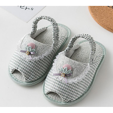 cd699d6a9 Girls  Shoes Cotton Summer First Walkers Sandals Magic Tape for Baby Coffee    Green   Pink