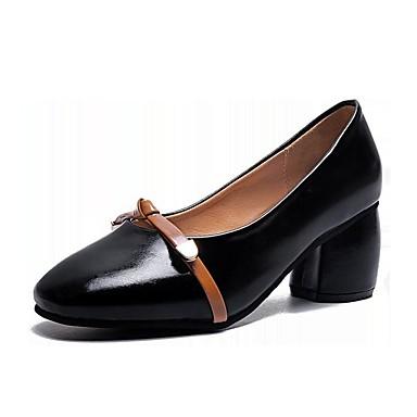 Pu Chunky Les Talons Confort De polyuréthanne Chaussures D'été XxqO7fBw