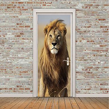 196025a77f2 Αυτοκόλλητα πόρτας - 3D Αυτοκόλλητα Τοίχου / Animal αυτοκόλλητα τοίχου Ζώα  / Σχήματα Παιδικό / Παιδικό