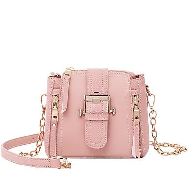 3953e795e6 Women s Bags PU(Polyurethane) Shoulder Bag Zipper Black   Blushing Pink    Brown