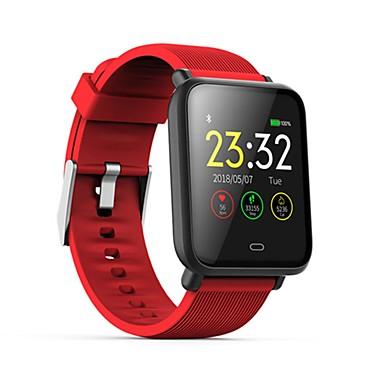 povoljno Smart trekeri, kopče i trake-q9 vodootporni sportski smartwatch za android ios bluetooth monitor otkucaja srca mjerenje krvnog tlaka zaslon osjetljiv na dodir kalorije spaljene vježbe rekordni timer štoperica pedometar