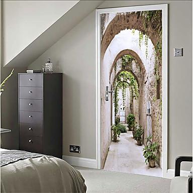 halpa Seinätarrat-Koriste-seinätarrat - 3D-seinätarrat Asetelma / 3D Makuuhuone / Sisällä