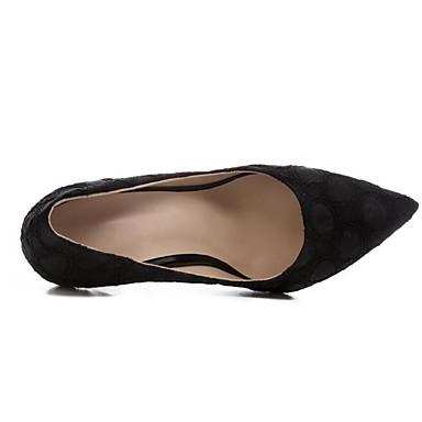 Talons 06869366 Daim Aiguille Femme à Noir Chaussures Escarpin Basique Printemps Talon PfwYqAZ