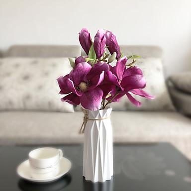 billige Kunstige blomster-Kunstige blomster 1 Gren Klassisk Moderne Moderne Europeisk Orkideer Bordblomst