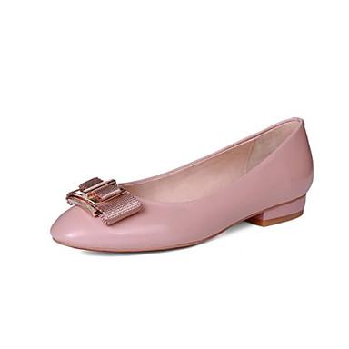 Chaussures Ballerine Femme Rouge Talon Noir Eté 06848697 Bas Rose Ballerines Nappa Cuir dxgwnCRqxH