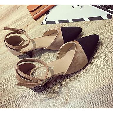 Polyuréthane amp; Confort Chaussures Kaki Talon Printemps Escarpin 06864593 Noir Basique Chaussures Bottier Femme à Automne Talons 51q4nB