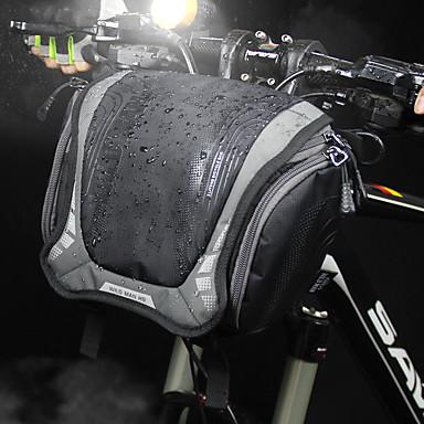 abordables Sacoches de Vélo-6 L Sacoche de Guidon de Vélo Sac à bandoulière Multifonctionnel Etanche Portable Sac de Vélo Nylon Sac de Cyclisme Sacoche de Vélo Cyclisme Vélo Cyclisme Voyage / Bandes Réfléchissantes