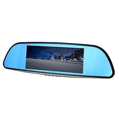 abordables DVR de Voiture-ziqiao xr701 full hd 1080p 7 pouces ips vision nocturne voiture dvr 140 degrés grand angle cmos capteur miroir caméra enregistreur vidéo double enregistreur registraire vue arrière dvrs dash cam