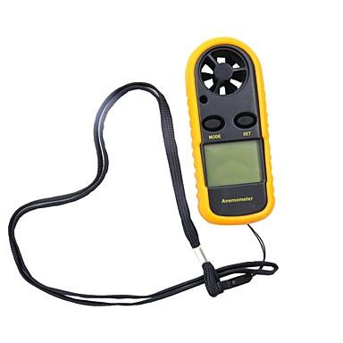 voordelige Test-, meet- & inspectieapparatuur-0-30 m / s digitale anemometer wind sensor met lcd-achtergrondverlichting display-10 ~ 45c temperatuur tester anemometro hy113