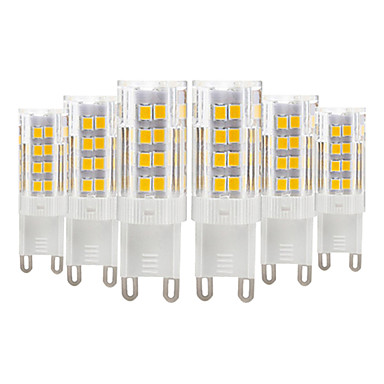 abordables Ampoules électriques-YWXLIGHT® 6pcs 4 W LED à Double Broches 300-400 lm E14 G9 G4 T 51 Perles LED SMD 2835 Blanc Chaud Blanc Froid 220-240 V