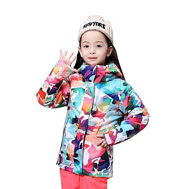63f0efc9db2 ... Boys Girls Clothes  outlet online 3f2aa bc2aa GSOU SNOW Girls Ski  Jacket Windproof