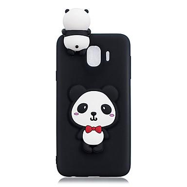 buy popular 583e3 0de58 Case For Samsung Galaxy J6 / J4 Pattern / DIY Back Cover Panda Soft ...