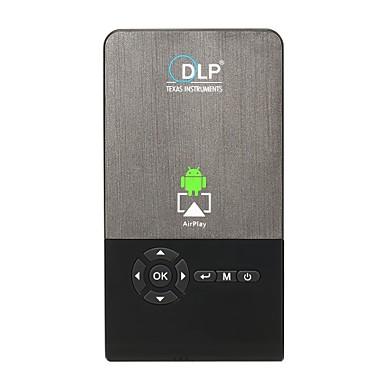 Factory OEM C2 DLP Proiector Business / Proiector Home Cinema / Mini Proiector LED Proiector 100 lm Android 7.1 A sustine 1080 (1920 x1080) 30-120 inch Ecran / FWVGA (854x480)