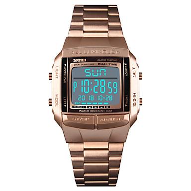 Χαμηλού Κόστους Ανδρικά Ρολόγια-SKMEI Ανδρικά Αθλητικό Ρολόι Ρολόι Καρπού  Ψηφιακό ρολόι Ψηφιακό Ανοξείδωτο Ατσάλι 0e9ad70580b