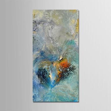 Hang oslikana uljanim bojama Ručno oslikana - Sažetak Pejzaž Moderna Uključi Unutarnji okvir / Prošireni platno