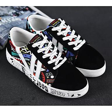 Acquista A Buon Mercato Per Donna Scarpe Comfort Di Corda Primavera & Autunno Sneakers Piatto Bianco - Nero - Black - Blue #06955529