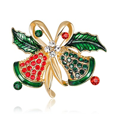3666a8c50ee Women's Vintage Style 3D Brooches Rhinestone Ladies Unique Design Classic Brooch  Jewelry Rainbow For Christmas New
