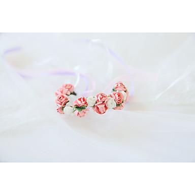 Cvijeće za vjenčanje Wrist Corsage Vjenčanje / Svadba Reljefni papir / Svila 0-10 cm