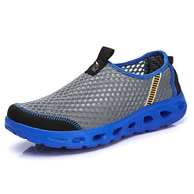 Homme Chaussures de de de confort Maille Automne Chaussures d'Athlétisme Chaussures d'Eau Respirable Gris / Kaki / Bleu royal | Sortie  86bae4