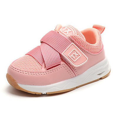 f203be5c59f Girls' Shoes Mesh Fall & Winter Comfort Sneakers Magic Tape for Kids /  Toddler Black / Pink / Polyester Rubber