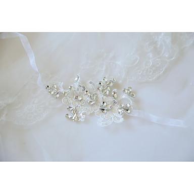 Cvijeće za vjenčanje Wrist Corsage Vjenčanje / Svadba Čipka / S perlama / Cvijet & Bud 0-10 cm