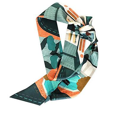 abordables Accessoires pour Chaussures-Soie Echarpe / Ruban Femme Quotidien Vert