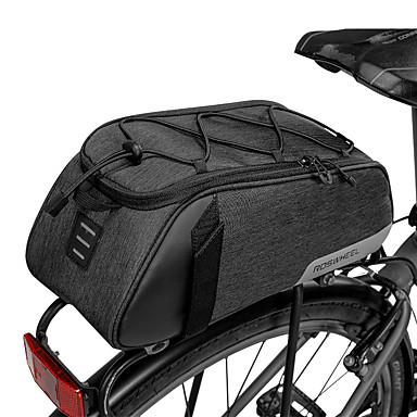 billige Sykkelvesker-7 L Vesker til bagasjebrettet Anvendelig Holdbar Enkel å installere Sykkelveske 300D Polyester Sykkelveske Sykkelveske Utendørs Trening Sykkel
