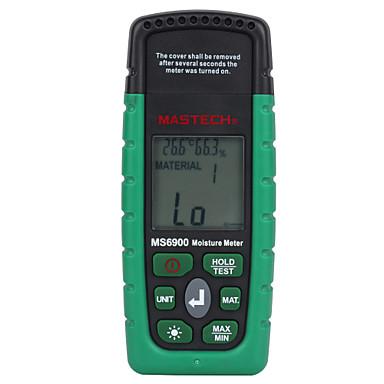 mastech ms6900 digitalni mjerač vlažnosti drvena građa betonskih zgrada mjerač temperature vlage s pozadinskim osvjetljenjem na LCD zaslonu