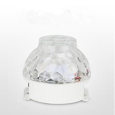 novi stage svjetla vodio uzorak svjetla kristalno čarobna kugla konvikt di svjetla rotirajuće šarene svjetla ktv bljesak