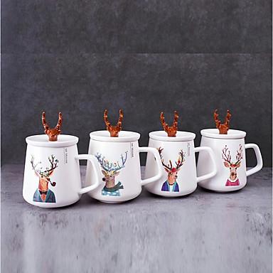 Drinkware Šalice za čaj / Staklo / Šalica Porculan Crtani film / dečko poklon / djevojka poklon Zabava / večer