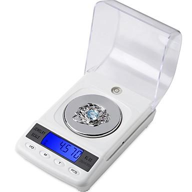 voordelige Test-, meet- & inspectieapparatuur-cx-50 50g / 0.001g digitale elektronische weegschaal hoge precisie medische laboratorium gram balans lcd draagbare sieraden schalen
