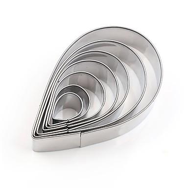 billige Bakeredskap-Bakeware verktøy Rustfritt Stål + A-klasse ABS Rustfritt stål Søtt Nytt Design Multifunktion Brød Kake Til Småkake Kakekniv 7pcs
