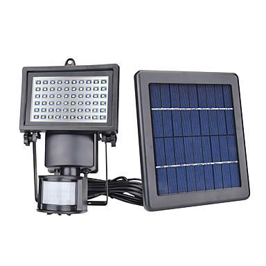 billige Utendørsbelysning-4stk / 1pc 5 W plen Lights / Led Street Light / Solar Wall Light Solar / Infrarød sensor / Lysstyring Varm hvit / Hvit 3.7 V Utendørsbelysning / Courtyard / Have 60 LED perler