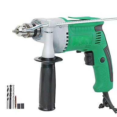 voordelige Elektrisch gereedschap-laoa 550w elektrische boor huishoudens 220v snelheid verstelbare elektrische schroevendraaier gat boren voor metaal en hout