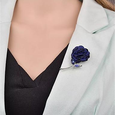 billige Motebrosjer-Dame Vintage Stil Nåler - Stilfull, Unikt design, Fransk Brosje Smykker Mørkeblå / Vin / Grå Til Bryllup / Gave