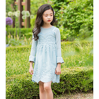 cheap Girls  039  Dresses-Kids Girls  039  Basic Daily Solid Colored 7f71787b5a90