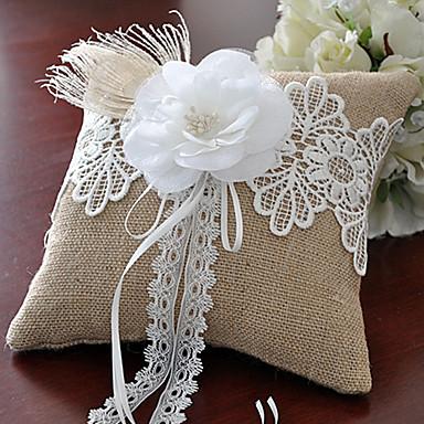 Tekstil Perje / Cvjetni print Pamuk / Posteljina ring pillow Monogram Sva doba