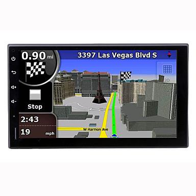 dgs7001f 7 tommer 2 din android6.0 in-dash bil dvd-spiller for universell støtte / mpeg4 / mp3 / jpeg / mp4 / jpg